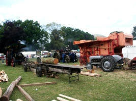 Photograph of the woodworking demonstration